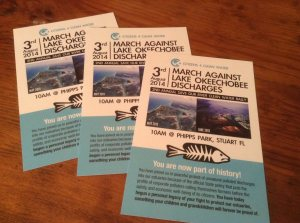post card for clean water rally
