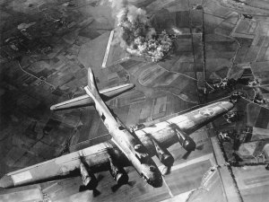 File photo, WWII bomber. (Public photo.)