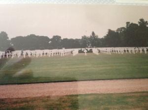 American Cemetery in Cambridge, England