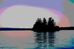 sqaw island sebago lake maine